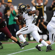 ORLANDO, FL - JANUARY 01:  Marcus Murphy #6 of the Missouri Tigers runs the football during the Buffalo Wild Wings Citrus Bowl against the Minnesota Golden at the Florida Citrus Bowl on January 1, 2015 in Orlando, Florida. (Photo by Alex Menendez/Getty Images) *** Local Caption *** Marcus Murphy