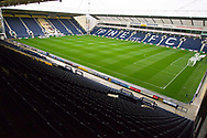 general view of Deepdale Stadium.EFL Cup match between Preston North End and Manchester City at Deepdale, Preston, England on 24 September 2019.