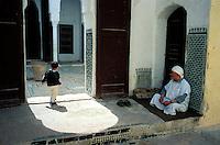 Maroc - Fès - Mosquée dans le quartier des Andalous - la Medina