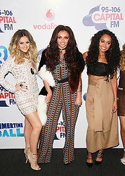 © London News Pictures. Perrie Edwards, Jesy Nelson & Leigh-Anne Pinnnock, Capital FM Summertime Ball, Wembley Stadium, London UK, 06 June 2015, Photo by Brett D. Cove /LNP