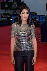 Leila Bekhti attending the premiere of The Sisters Brothers during the 44th Deauville American Film Festival in Deauville, France on September 4, 2018. Photo by Julien Reynaud/APS-Medias/ABACAPRESS.COM