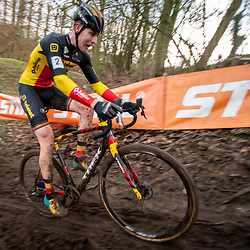 2019-12-15: Cycling: Overijse: Toon Aerts seems to be challenged