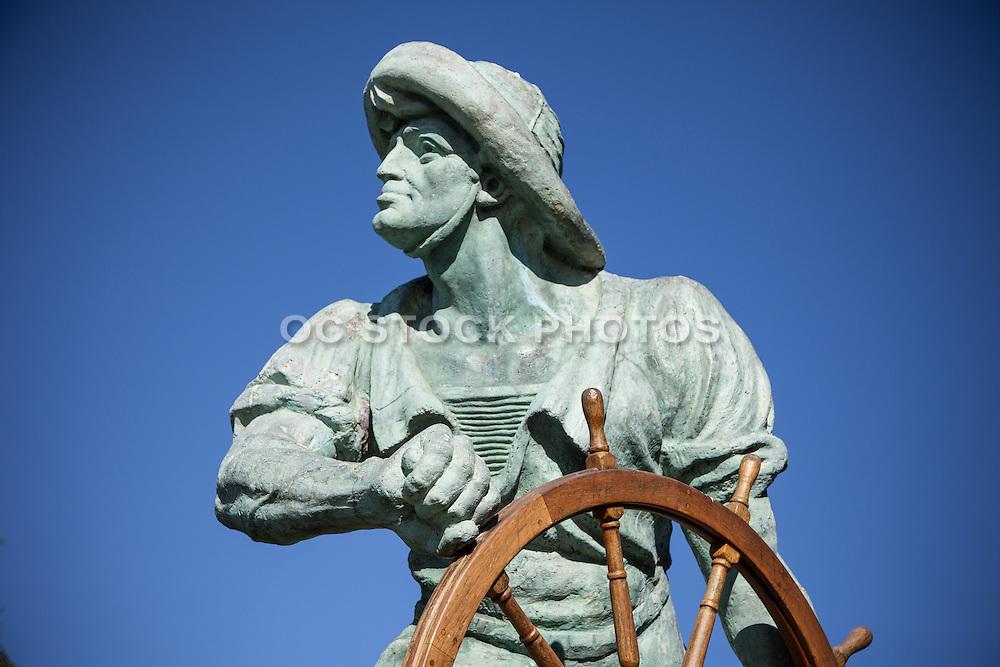The Helmsman Statue on Venice Boulevard in the Marina