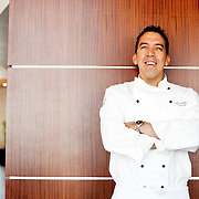 Greater Phoenix native Ron Dimas, chef de cuisine at Orange Sky at Talking Stick Resort in Scottsdale, dishes on his favorite local restaurants and his love of Sriracha Hot Chile Sauce.<br /> <br /> Photograph by Jill Richards<br /> www.jillrichardsphotography.com