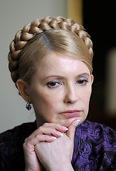 Yulia Tymoshenko, Ukraine's former prime minister, was recently sentenced to seven years in jail for abuse of authority over a gas deal with Russia. (Photo © Jock Fistick)