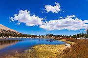 Alpine tarn in the Cottonwood Lakes Basin, John Muir Wilderness, California USA