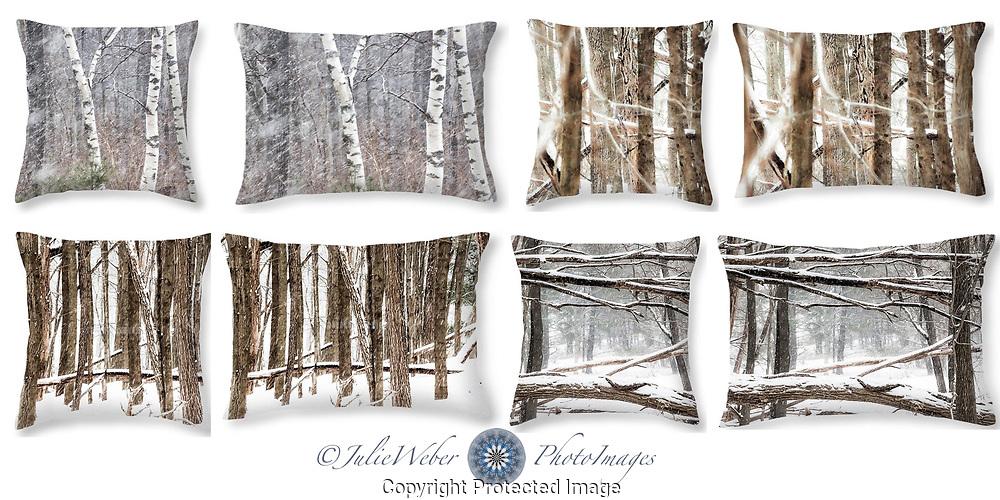Winter Woods  - Shop here: https://2-julie-weber.pixels.com/shop/throw+pillows/winter+woods