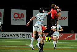 April 8, 2018 - Nanterre, Hauts de Seine, France - RC Toulon Flanker DUANE VERMEULEN in action during the French rugby championship Top 14 match between Racing 92 and RC Toulon at U Arena Stadium in Nanterre - France..Racing 92 Won  17-13. (Credit Image: © Pierre Stevenin via ZUMA Wire)