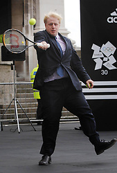 File photo dated 18/06/08 of Boris Johnson during his tenure as Mayor of London. Mr Johnson has been elected by Conservative party members as the new party leader, and will become the next Prime Minister of the United Kingdom.