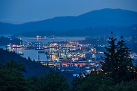 Port of North Vancouver, Morning