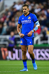 Mattia Bellini of Italy<br /> <br /> Photographer Craig Thomas/Replay Images<br /> <br /> Quilter International - England v Italy - Friday 6th September 2019 - St James' Park - Newcastle<br /> <br /> World Copyright © Replay Images . All rights reserved. info@replayimages.co.uk - http://replayimages.co.uk