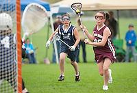 Lakes Region Lacrosse U13 girls versus Hampton Attack  May 15, 2011.