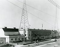 1929 Warner Bros. studios on Sunset Blvd.