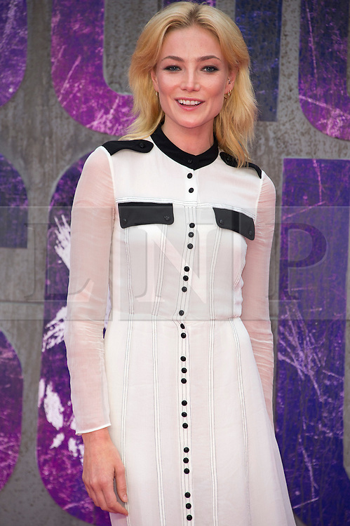 © Licensed to London News Pictures. 03/08/2016. CLARA PAGET attends the Suicide Squad UK Film Premiere  London, UK. Photo credit: Ray Tang/LNP