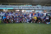Warriors players, staff and family. Vodafone Warriors v Manly Sea Eagles. NRL Rugby League, Central Coast Stadium, Gosford, NSW, Australia, Sunday 27th September 2020 Copyright Photo: David Neilson / www.photosport.nz