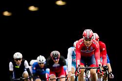 September 22, 2017 - Bergen, NORWAY - 170922 Tobias Svendsen Foss of Norway competes during the Men Under 23 Road Race on September 22, 2017 in Bergen..Photo: Vegard Wivestad GrÂ¿tt / BILDBYRN / kod VG / 170024 (Credit Image: © Vegard Wivestad Gr¯Tt/Bildbyran via ZUMA Wire)