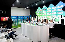 Press conference of Slovenia Fed Cup tennis team, on January 31, 2019 in Telemach shop, TUS centre, BTC, Ljubljana, Slovenia. Photo by Vid Ponikvar / Sportida