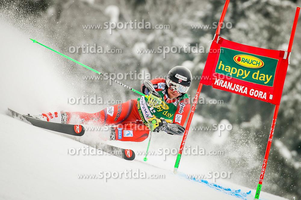 Rasmus Windingstad of Norway during 2nd run of Men's Giant Slalom race of FIS Alpine Ski World Cup 57th Vitranc Cup 2018, on March 3, 2018 in Podkoren, Kranjska Gora, Slovenia. Photo by Ziga Zupan / Sportida