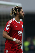 Ryan Shotton of Birmingham city looks on. EFL Skybet championship match, Cardiff city v Birmingham City at the Cardiff City Stadium in Cardiff, South Wales on Saturday 11th March 2017.<br /> pic by Andrew Orchard, Andrew Orchard sports photography.