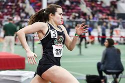 womens 400 meter, heat 1, Brown, May Stern<br /> BU John Terrier Classic <br /> Indoor Track & Field Meet