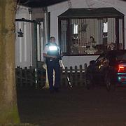 Schietpartij woonwagenkamp Noordersingel Eemnes, sporenonderzoek politie,