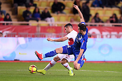 January 19, 2019 - Monaco, France - 07 RONY LOPES (MONA) - TACLE (Credit Image: © Panoramic via ZUMA Press)