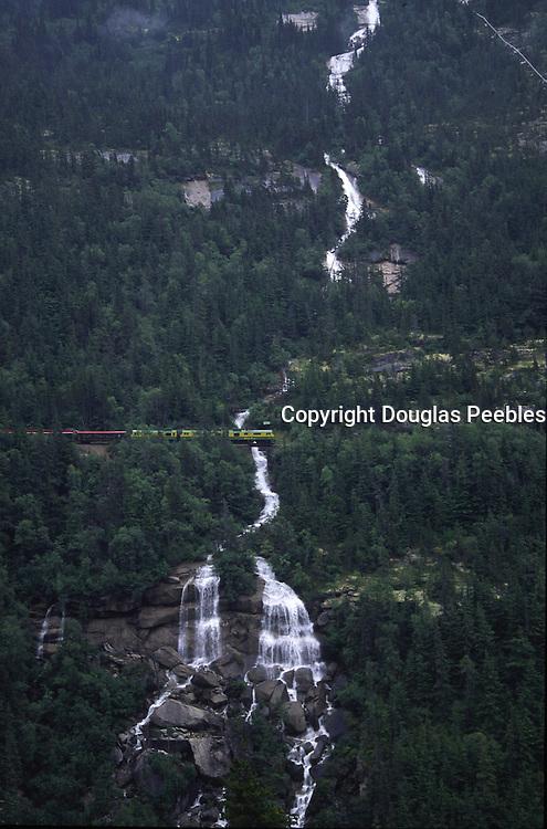 White Pass Railway, Skagway, S.E., Alaska, USA<br />