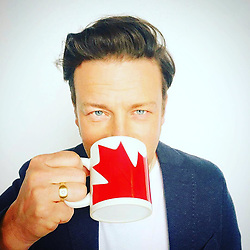 """Jamie Oliver releases a photo on Instagram with the following caption: """"HAPPY CANADA \ud83c\udde8\ud83c\udde6 DAY !!!! To all my friends in canada Have a fantastic day guys.... a great day to celebrate all that is Amazing and special about your country and culture....my experiences in your country have always filled me up and inspired me, onwards and upwards ..... oh and when you've finished celebrating I don't suppose you'd mind popping back and sorting your old mates out in the UK will ya ?? We're having few bumps to say the least .... one love JO xx"""". Photo Credit: Instagram *** No USA Distribution *** For Editorial Use Only *** Not to be Published in Books or Photo Books ***  Please note: Fees charged by the agency are for the agency's services only, and do not, nor are they intended to, convey to the user any ownership of Copyright or License in the material. The agency does not claim any ownership including but not limited to Copyright or License in the attached material. By publishing this material you expressly agree to indemnify and to hold the agency and its directors, shareholders and employees harmless from any loss, claims, damages, demands, expenses (including legal fees), or any causes of action or allegation against the agency arising out of or connected in any way with publication of the material."""