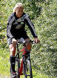 19.07.2011, Bad Kleinkirchheim, AUT, Fussball Trainingscamp VFL Wolfsburg, im Bild Simon Kjaer , EXPA Pictures © 2011, PhotoCredit: EXPA/Oskar Hoeher