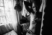 There is a rise of cancer in Africa, it is no longer just a 'western disease'. Cancer is now becoming an unwelcome reality in African life possibly due to the recent changes in diet and environment, and increase in stress factors. 27-year-old Monica Buluma was diagnosed with cancer of the oesophagus in 2010. After four years of chemotherapy, radiotherapy and deep surgery, difficulties in eating and swallowing, 15kg weight loss, Monica came through and became a cancer survivor. The funds for treatments such as these are well out of the reach for the majority of Kenyans, but a few like Monica are lucky in receiving financial support from the Faraja Cancer Support Trust, a charitable trust founded in 2010 with the mission to improve the quality of life for cancer patients and their families by providing information, emotional and practical support, counseling, and complimentary therapies to cancer patients and their carers. Monica monitors her health daily and continues to regain her strength slowly.