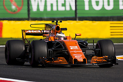 August 25, 2017 - Spa, Belgium - 02 VANDOORNE Stoffel from Belgium of McLaren Honda during the Formula One Belgian Grand Prix at Circuit de Spa-Francorchamps on August 25, 2017 in Spa, Belgium. (Credit Image: © Xavier Bonilla/NurPhoto via ZUMA Press)