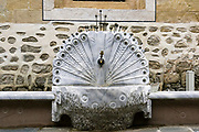 Peacock shaped Drinking Fountain in Plovdiv, Bulgaria