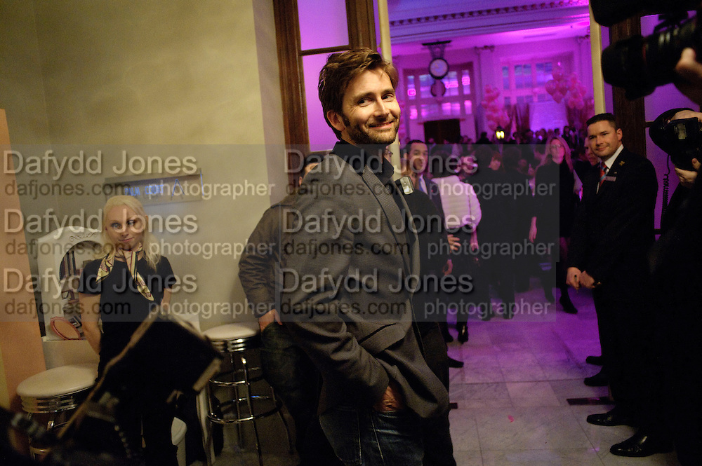 DAVID TENNANT; , Savoy Theatre's Legally Blonde- The Musical,  Gala night. After-party at the Waldorf Hilton. London. 13 January 2010. *** Local Caption *** -DO NOT ARCHIVE-© Copyright Photograph by Dafydd Jones. 248 Clapham Rd. London SW9 0PZ. Tel 0207 820 0771. www.dafjones.com.<br /> DAVID TENNANT; , Savoy Theatre's Legally Blonde- The Musical,  Gala night. After-party at the Waldorf Hilton. London. 13 January 2010.