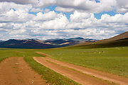 Natural landscape in Hogno Han valley Mongolia