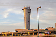 Air traffic control tower, Ben Gurion International Airport, Israel