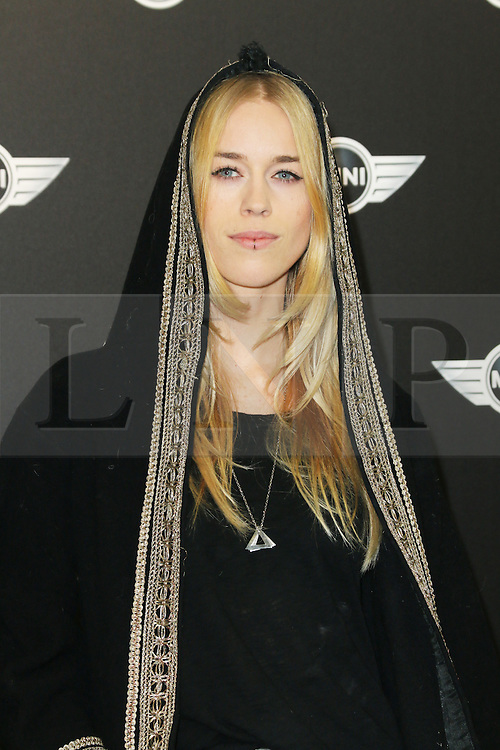 Mary Charteris, The World Premiere of the New MINI, Old Sorting Office, London UK, 18 November 2013, Photo by Richard Goldschmidt © Licensed to London News Pictures. Photo credit : Richard Goldschmidt/Piqtured/LNP