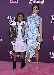 May 3, 2018 - Los Angeles, California, U.S. - Jhene Aiko and Namiko Love arrives for the VH1's 3rd Annual 'Dear Mama: A Love Letter to Moms' at the Theatre at the Ace Hotel. (Credit Image: © Lisa O'Connor via ZUMA Wire)