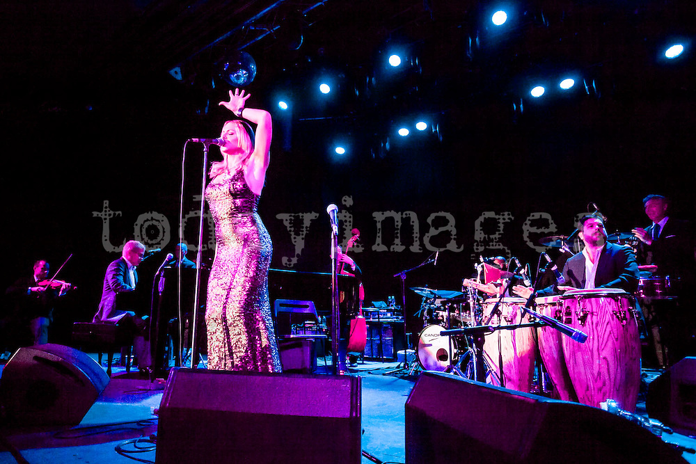 Pink Martini performing at the Riviera Club in Madrid