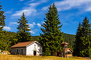 An orthodox church in Rhodope Mountains