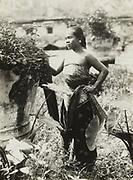 Vrouw op Midden-Java