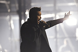 The Weeknd bei Verleihung der MTV Europe Music Awards in Rotterdam / 061116 <br /> <br /> *** The show during the MTV Europe Music Awards in Rotterdam, Netherlands, November 06, 2016 ***