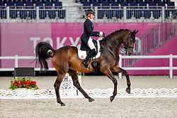 Von Bredow-Werndl Jessica, GER, TSF Dalera BB, 139<br /> Olympic Games Tokyo 2021<br /> © Hippo Foto - Stefan Lafrentz<br /> 28/07/2021