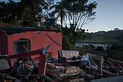Brumadinho, Minas Gerais, Brazil, 28 Jan 2019:<br /> House destroyed by mud in the neighborhood Parque da Cachoeira.<br /> The tailings dam, which was located at the Córrego do Feijão mine in Brumadinho, broke on Friday (25). The muddy sea swept the local community and part of the Valley's administrative center and cafeteria. Among the victims are people living in the area and employees of the mining company. The vegetation and rivers were hit.<br /> Photo: Avener Prado