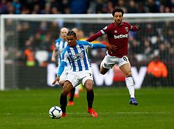 Juninho Bacuna of Huddersfield Town Felipe Anderson of West Ham United - Mandatory by-line: Phil Chaplin/JMP - 16/03/2019 - FOOTBALL - London Stadium - London, England - West Ham United v Huddersfield Town - Premier League