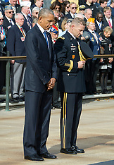 Virginia: Obama Makes Remarks in the Memorial Amphitheater, 11 Nov. 2016