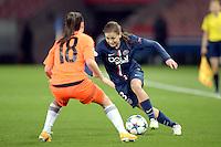 Laure Boulleau - 28.03.2015 - Paris Saint Germain / Glasgow City FC - 1/2 Finale retour Champions League<br /> Photo : Andre Ferreira / Icon Sport