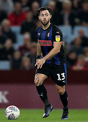 "Rotherham United's Richard Towell during the Sky Bet Championship match at Villa Park, Birmingham. PRESS ASSOCIATION Photo. Picture date: Tuesday September 18, 2018. See PA story SOCCER Villa. Photo credit should read: Simon Cooper/PA Wire. RESTRICTIONS: EDITORIAL USE ONLY No use with unauthorised audio, video, data, fixture lists, club/league logos or ""live"" services. Online in-match use limited to 120 images, no video emulation. No use in betting, games or single club/league/player publications."