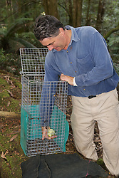 David Lindenmayer Setting Trap