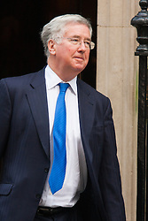 Downing Street, London, January 27th 2015. Ministers attend the weekly cabinet meeting at Downing Street. PICTURED: Defence3 Secretary Michael Fallon