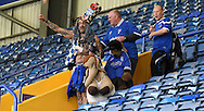 John Mr Portsmouth Westwood shows his support after the Sky Bet League 2 match between Portsmouth and Mansfield Town at Fratton Park, Portsmouth, England on 24 October 2015. Photo by Michael Hulf.